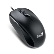 Мышь Genius DX-110, PS2 (чёрная, оптическая 1000dpi)
