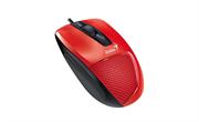 Мышь Genius DX-150X, USB (красная/чёрная, оптическая 1000dpi)