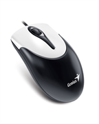 Мышь Genius NetScroll 100 V2, USB (черная/белая, оптическая 1000 dpi)