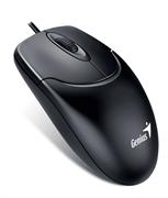 Мышь Genius NetScroll 120 V2, USB (чёрная, оптическая 1000dpi)