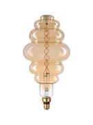 Лампа светодиодная Hiper HIPER LED VINTAGE FILAMENT FLEXIBLE MARSHMALLOW 8W 520Lm E27 120275 1800K AMBER