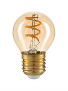 Лампа светодиодная Hiper HIPER LED DECO FILAMENT GLOBE 6W 515Lm E27 2400K AMBER