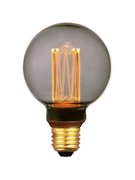 Лампа светодиодная Hiper HIPER LED VEIN G80 4W 150Lm E27 2000K Smoky