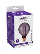 Лампа светодиодная Hiper HIPER LED VEIN G95 4W 150Lm E27 2000K Smoky