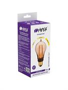 Лампа светодиодная Hiper HIPER LED VEIN A70T 4.5W 300Lm E27 1800K Amber 3-STEP dimmable