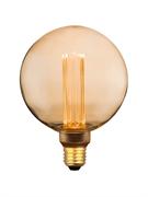 Лампа светодиодная Hiper HIPER LED VEIN G125 3W 150Lm E27 2000/3000/4000K Amber