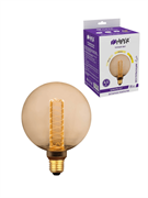 Лампа светодиодная Hiper HIPER LED VEIN G125 4.5W 300Lm E27 1800K Amber 3-STEP dimmable