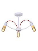 Светильник Hiper E27х3х60Вт Белый с золотом H002-3