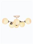 Светильник Hiper E27х6х60Вт Чёрный с золотом H007-6