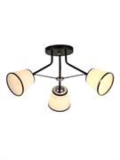 Светильник Hiper E27х3х60Вт черный/Хром H009-3
