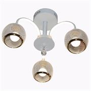 Светильник Hiper LED + 3хЕ27х60Вт Белый H017-3