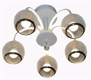 Светильник Hiper LED + 5хЕ27х60Вт Белый H017-5