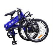 ". HIPER Электровелосипед HIPER Engine BF204, 20"" колеса, 250 Вт мотор, 375 Втч батарея, складной, алюминивая рама"