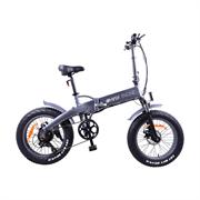 """. HIPER Электровелосипед HIPER Engine BF205 BigFoot, 20"""" широкие шины, 350 Вт мотор, 375 Втч батарея, складной, алюминивая рама"""