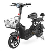 ". HIPER Электровелосипед HIPER Engine BS262, 14"" колеса, 400 Вт мотор, 576 Втч батарея, амортизаторы обоих колес, доп.место для пассажира, до 160 кг."