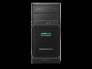 Сервер HPE ML30 Gen10, 1x Intel Xeon E-2124 4C 3.3GHz, 1x8GB-U DDR4, S100i/ZM (RAID 0,1,5,10) noHDD (4/6 LFF 3.5'' NHP) 1x350W NHP NonRPS (up2x500), 2x1Gb/s, noDVD, iLO5, Tower-4U, 3-1-1
