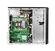 "Сервер HPE ML110 Gen10, 1x 4210R Xeon-S 10C 2.4GHz, 1x16GB-R DDR4, P408i-p/2GB (RAID 1+0/5/5+0/6/6+0/1+0 ADM) noHDD (8/16 SFF 2.5"" HP) 1x800W (up2), 2x1Gb/s, noDVD, iLO5, Tower-4,5U, 3-3-3"