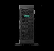 "Сервер HPE ML350 Gen10, 1(up2)x 4210R Xeon-S 10C 2.4GHz, 1x16GB-R DDR4, P408i-a/2GB (RAID 1+0/5/5+0/6/6+0/1+0 ADM) noHDD (8/24 SFF 2.5"" HP) 1x800W (up2), 4x1Gb/s, noDVD, iLO5, Tower-4U, 3-3-3"