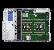 """Сервер HPE ML350 Gen10, 1(up2)x 4208 Xeon-S 8C 2.1GHz, 1x16GB-R DDR4, P408i-a/2GB (RAID 1+0/5/5+0/6/6+0/1+0 ADM) noHDD (8/24 SFF 2.5"""" HP) 1x800W (up2), 4x1Gb/s, noDVD, iLO5, Tower-4U, 3-3-3"""