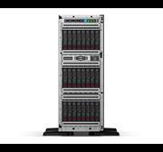 "Сервер HPE ML350 Gen10, 1(up2)x 5218R Xeon-G 20C 2.1GHz, 1x32GB-R DDR4, P408i-a/2GB (RAID 1+0/5/5+0/6/6+0/1+0 ADM) noHDD (8/24 SFF 2.5"" HP) 2x800W (up2), 4x1Gb/s, noDVD, iLO5, Tower-4U, 3-3-3"