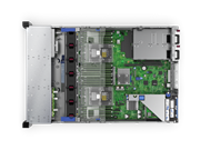 "Сервер HPE DL380 Gen10, 1x 4210 Xeon-S 10C 2.2GHz, 1x32GB-R DDR4, P408i-a/2GB (RAID 1+0/5/5+0/6/6+0/1+0 ADM) noHDD (8/24+6 SFF 2.5"" HP) 1x500W (up2), 4x1Gb/s FLR, noDVD, iLO5, Rack2U, 3-3-3"