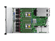 "Сервер HPE DL360 Gen10, 1(up2)x 4210R Xeon-S 10C 2.4GHz, 1x16GB-R DDR4, P408i-a/2GB (RAID 1+0/5/5+0/6/6+0/1+0 ADM) noHDD (8/10+1 SFF 2.5"" HP) 1x500W (up2), 4x1Gb/s 366FLR, noDVD, iLO5, Rack1U, 3-3-3"