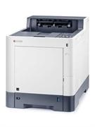 Принтер лазерный KYOCERA Цветной лазерный принтер Kyocera P6235cdn (A4, 1200 dpi, 1024 Mb, 35 ppm,  дуплекс, USB 2.0, Gigabit Ethernet, тонер) продажа только с доп. тонерами TK-5280K/C/M/Y
