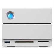 "Накопитель на жестком магнитном диске LaCie Внешний жесткий диск LaCie STGB20000400 20TB 2big Dock Thunderbolt3 3,5"" 2  Thunderbolt3, 1USB 3.1, 1DisplayPort, 1USB 3.0 (type A), 1 SD card, 1CF card, 7200RPM cable included"