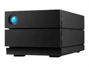 "Накопитель на жестком магнитном диске LaCie Внешний жесткий диск LaCie STHJ16000800 16TB 2big RAID USB 3.1 TYPE C 3.5"" 7200RPM Black"