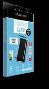 пленка защитная Lamel 3D закаленное  стекло MyScreen 3D DIAMOND Glass EA Kit Black iPhone 6/6S Plus