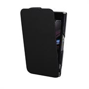 Чехол LaZarr Чехол LaZarr Protective Case Slim для Sony Xperia Z1 Compact, эко кожа, черный