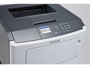 Принтер лазерный Lexmark MS510dn белый, лазерный, A4, монохромный, ч.б. 42 стр/мин, печать 1200x1200, лоток 350 листов, USB, двусторонний автоподатчик, сеть