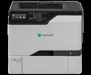 Принтер лазерный Lexmark CS720de белый, лазерный, A4, цветной, ч.б. 38 стр/мин, цвет 38 стр/мин, печать 1200x1200, лоток 550+100 листов, USB, Wi-Fi, двусторонний автоподатчик, сеть