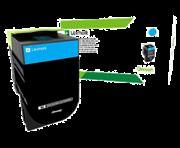 Картридж Lexmark Голубой картридж высокой ёмкости, 3K