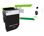 Картридж Lexmark 80C8HKE с тонером высокой ёмкости для CX310/410/510, чёрный, Corporate (4K)