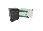 Картридж Lexmark с тонером черного цвета высокой емкости 25000 стр. для CX725 в рамках программы возврата
