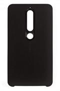 Чехол Nokia Чехол Nokia 6.1 Soft Touch Case Black CC-505