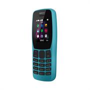 Телефон сотовый Nokia 110 DS TA-1192 Blue, 1.77'' 160x120, 4MB RAM, 4MB, up to 32GB flash, 0,3Mpix, 2 Sim, Micro-USB, 800mAh, S30+, 115,15 ммx49,85 ммx14,3 мм, Процессор SPRD 6531E