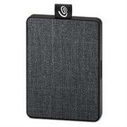 """Накопитель на жестком магнитном диске Seagate Внешний твердотельный накопитель Seagate One Touch SSD STJE1000400 1Тб  2.5"""" USB 3.0 Black"""