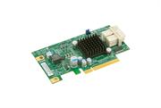 Контроллер SuperMicro Low Profile 6.4Gb/s Dual-Port NVMe Internal Host Bus Adapter