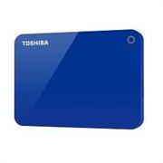 "Накопитель на жестком магнитном диске Toshiba Внешний жесткий диск TOSHIBA HDTC920EL3AA Canvio Advance 2ТБ 2.5"" USB 3.0 синий"