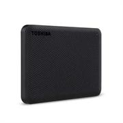 """Накопитель на жестком магнитном диске Toshiba Внешний жесткий диск TOSHIBA HDTCA10EK3AA/HDTCA10EK3AAH Canvio Advance 1ТБ 2.5"""" USB 3.0 черный"""