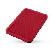 """Накопитель на жестком магнитном диске Toshiba Внешний жесткий диск TOSHIBA HDTCA10ER3AA/HDTCA10ER3AAH Canvio Advance 1ТБ 2.5"""" USB 3.0 красный"""