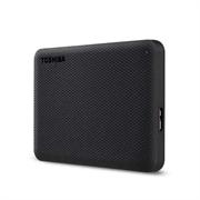 """Накопитель на жестком магнитном диске Toshiba Внешний жесткий диск TOSHIBA HDTCA20EK3AA/HDTCA20EK3AAH Canvio Advance 2ТБ 2.5"""" USB 3.0 черный"""