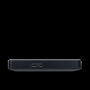 """Накопитель на жестком магнитном диске TOSHIBA Внешний жесткий диск Toshiba HDTB410EKCAA Canvio Basics 1ТБ 2.5"""" USB 3.0/USB-C черн"""