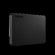 """Накопитель на жестком магнитном диске TOSHIBA Внешний жесткий диск Toshiba HDTB420EKCAA Canvio Basics 2ТБ 2.5"""" USB 3.2 Gen 1 черн"""