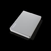 """Накопитель на жестком магнитном диске TOSHIBA Внешний жесткий диск TOSHIBA HDTX140ESCCA Canvio Flex 4ТБ 2,5"""" USB 3.0USB-C, серебро"""