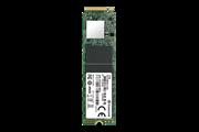 Флеш-накопитель Transcend Твердотельный накопитель SSD 1Tb  M.2 2280, NVMe PCIe Gen3 x4, M-Key, 3D NAND TLC, DRAM-less