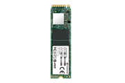 Флеш-накопитель Transcend Твердотельный накопитель SSD 256GB M.2 2280,PCIe Gen3x4, M-Key, 3D TLC, DRAM-less