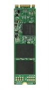 Флеш-накопитель Transcend Твердотельный накопитель SSD 256GB M.2 2280 SSD, SATA3 B+M Key, MLC